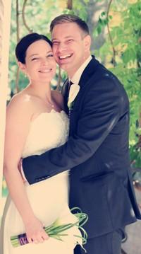 Daniela und Simon - Daniela (Froschal) und Simon (simi) haben geheiratet